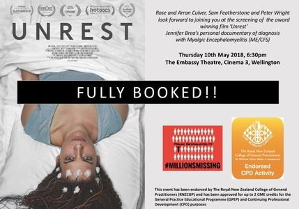 Unrest fully booked