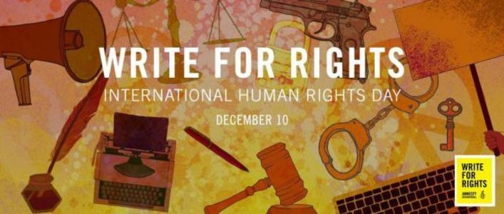 Write for Rights letter writing | Amnesty Canada