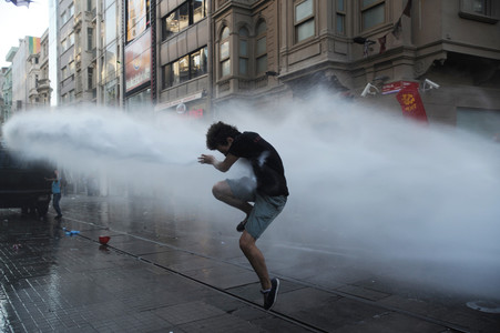 O turkey water cannon facebook
