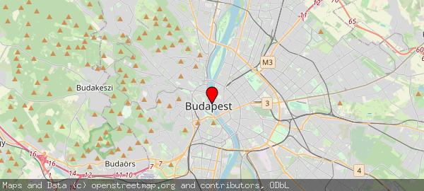 Budapest, Széchenyi Lánchíd, Széchenyi Lánchíd, 1051 Magyarország