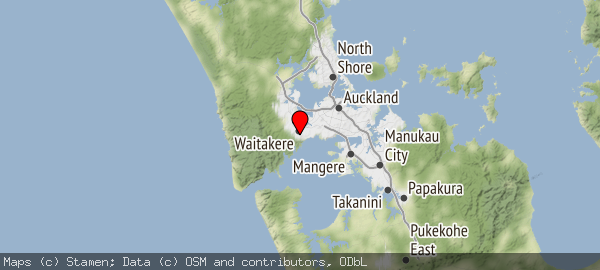 Titirangi, Auckland 0604, New Zealand