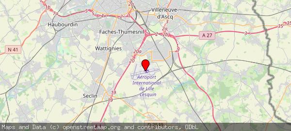 Route de l'Aéroport, 59810 Lesquin, France