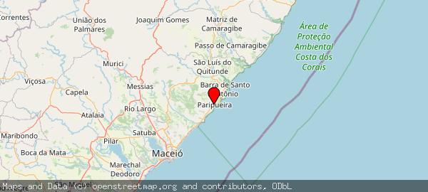 Paripueira, AL, 57935-000, Brasil