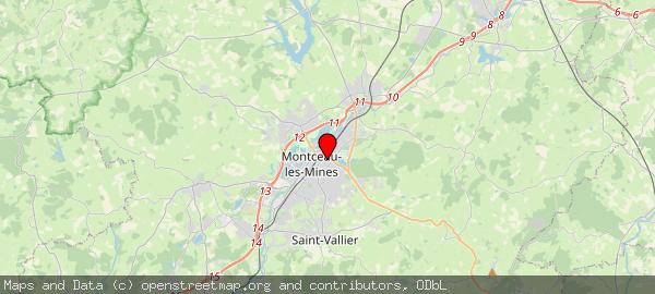 49 Rue de Gourdon, 71300 Montceau-les-Mines, France