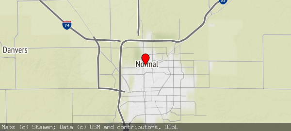 100 N University St, Normal, IL 61761, USA