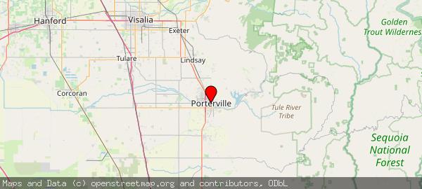 Porterville, CA 93257, USA