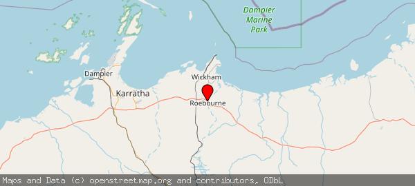 Roebourne WA 6718, Australia