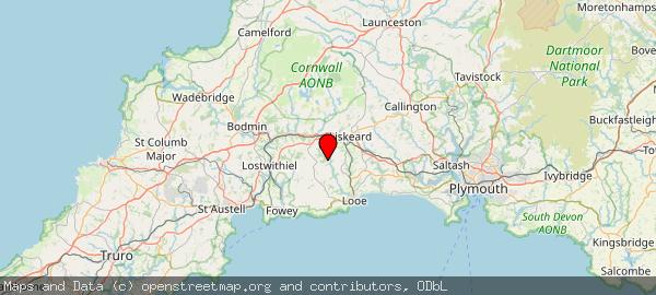 South East Cornwall, Liskeard PL14 4QX, UK
