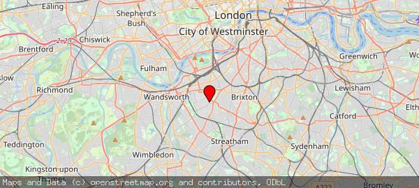Nightingale Walk, London, London Borough of Wandsworth, United Kingdom