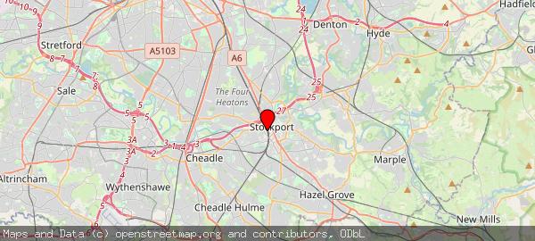 Heaton Chapel Railway Station, Stockport, Gt Manchester