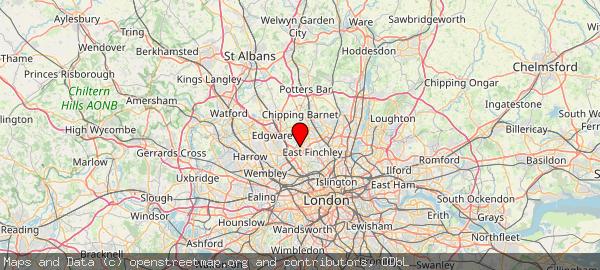 Finchley, London
