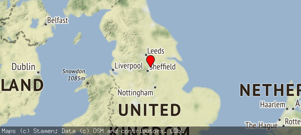 South Yorkshire and England