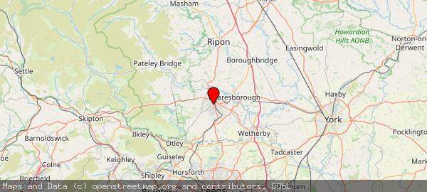 West Yorkshire, Barnsley and  Harrogate