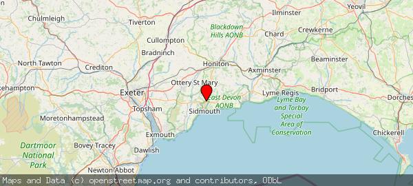 Sidford, East Devon