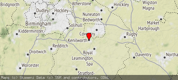 Kenilworth, Warwickshire