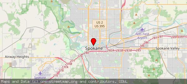 808 W Spokane Falls Blvd, Spokane, WA, United States