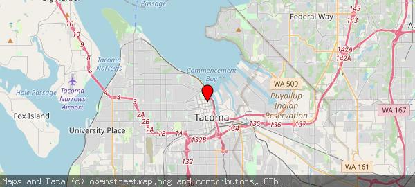 Tacoma City Hall, Market Street, Tacoma, WA, United States