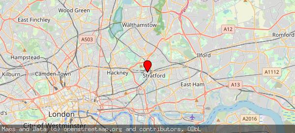 Westfield Stratford City, Montfichet Road, London