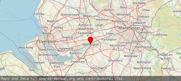 Warrington. Cheshire