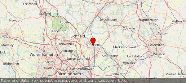 Tamworth, Staffordshire