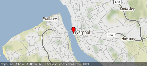 Liverpool City Region and surrounding areas