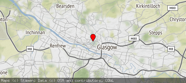 University Of Glasgow, Dumbarton Road, Glasgow, United Kingdom