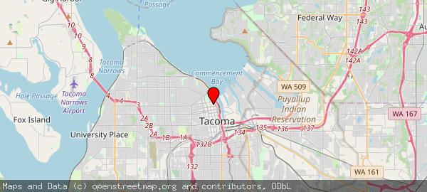 Tacoma City Hall, Market Street, Tacoma, WA, USA
