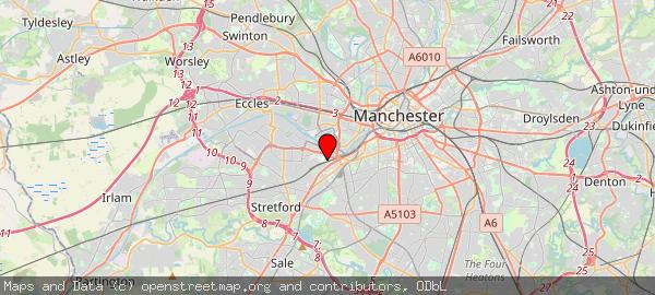 Manchester United Football Ground, Sir Matt Busby Way, Stretford, Manchester