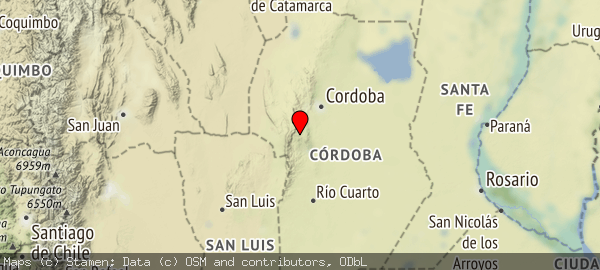 Valle de Calamuchita, Córdoba, Argentina