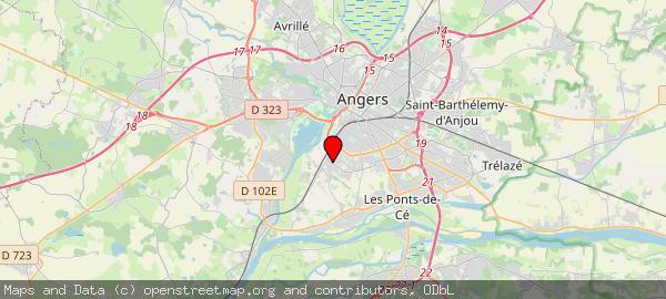 Mairie, Boulevard Robert d'Arbrissel, Angers