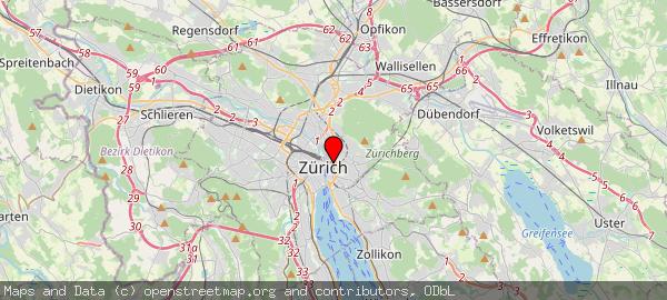 ETHZ, Rämistrasse, Zurich, Suisse