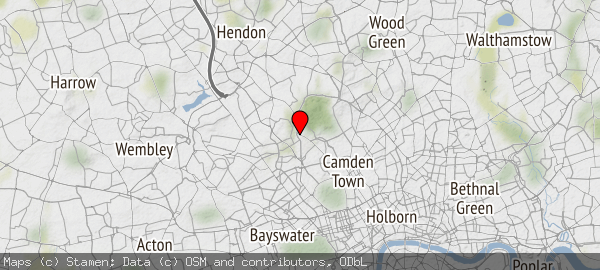 Hampstead, London Borough of Camden