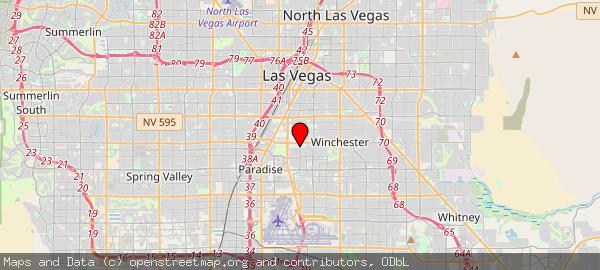 50 Sierra Vista Dr, Las Vegas, NV 89169