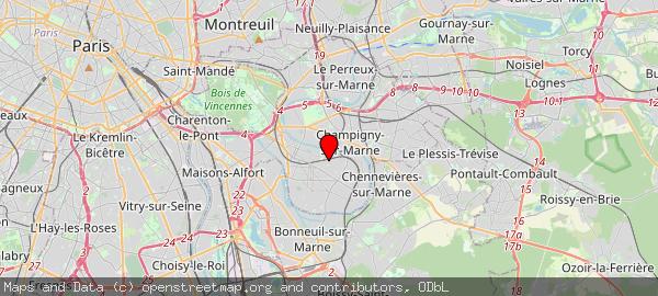 16 Place des Marronniers, 94100 Saint-Maur-des-Fossés