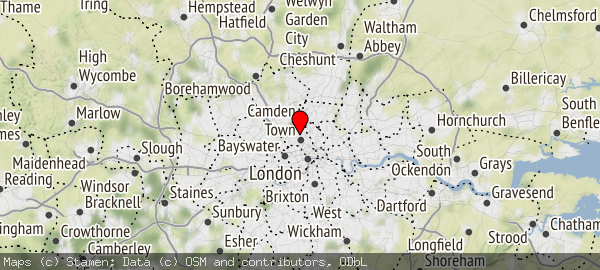 Kentish Town. NW1, NW2,NW3