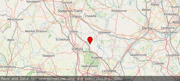 Hixon, Staffordshire