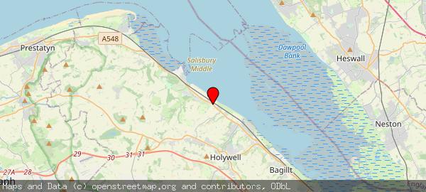 Llanerch-y-Mor, Mostyn, North Wales