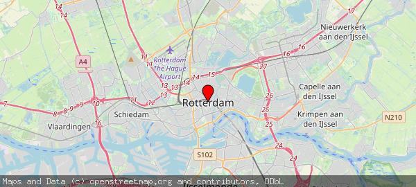 Postbus 70012, Rotterdam, Gemeente Rotterdam 3000 KP