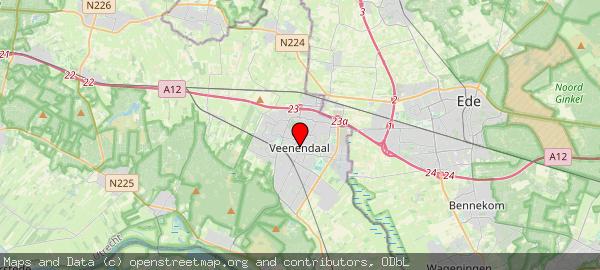 Postbus 1100, Veenendaal, Gemeente Veenendaal 3900 BC