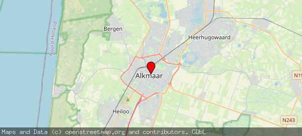 Postbus 53, Alkmaar, Gemeente Alkmaar 1800 BC