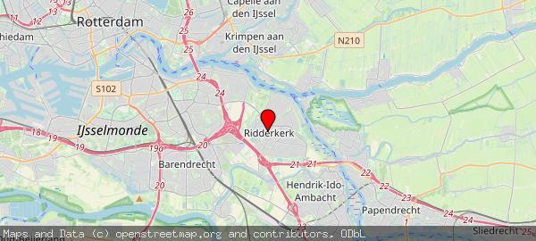 Postbus 271, Ridderkerk, Gemeente Ridderkerk 2980 AG