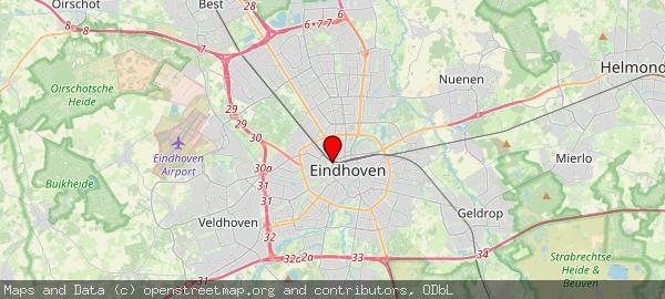 Postbus 90150, Eindhoven, Gemeente Eindhoven 5600 RB