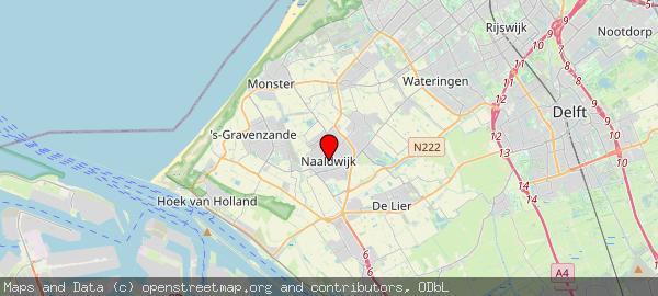 Postbus 150, Naaldwijk, Gemeente Westland 2670 AD