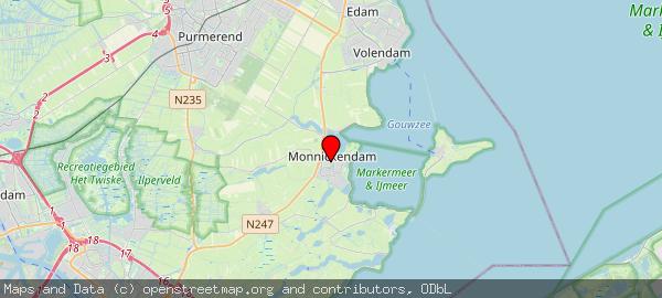 Postbus 1000, Monnickendam, Gemeente Waterland 1140 BA