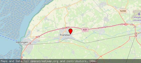 Postbus 58, Franeker, Gemeente Waadhoeke 8800 AB