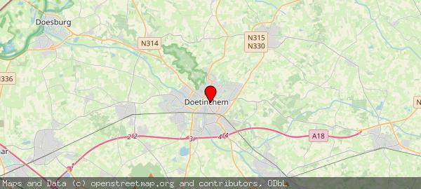 Postbus 9020, Doetinchem, Gemeente Doetinchem 7000 HA