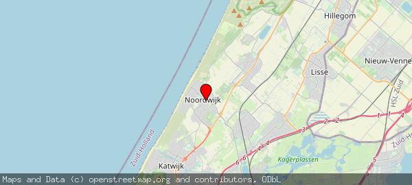 Postbus 298, Noordwijk, Gemeente Noordwijk 2200 AG