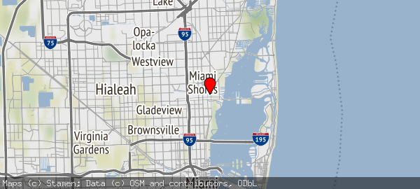 8330 Biscayne Boulevard, Miami, Florida 33138, United States