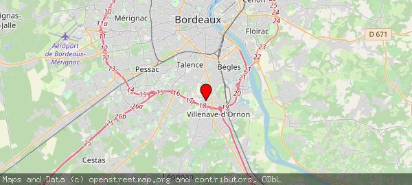 Rue du Professeur Calmette, 33140 Villenave-d'Ornon, France