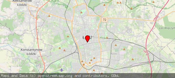 ŁÓDŹ, Piotrkowska, Łódź, Polska